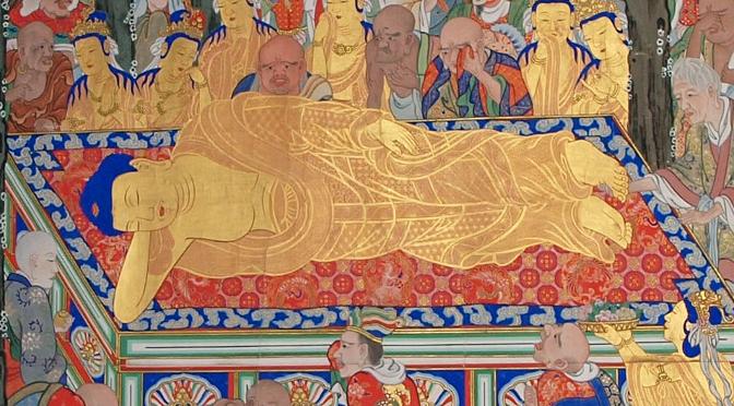 仏陀の涅槃図